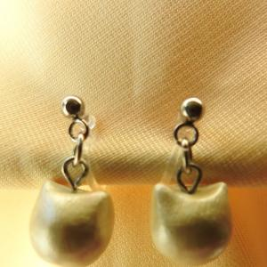 Week 322 - Imitation Cat Pearl Earrings