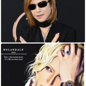 YOSHIKIさま&ローランドさま♡