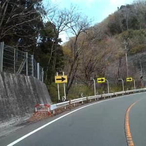 カーブが多い国道20号線 山梨県上野原市~神奈川県相模湖 (車窓動画)