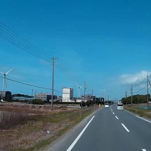 待時間にちょっとぶらっと!牧草ロール作り、風力発電風車、静岡県 磐田市 菊川市