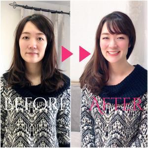 【Before-After】個別コンサルはー夢が叶う外見作りー