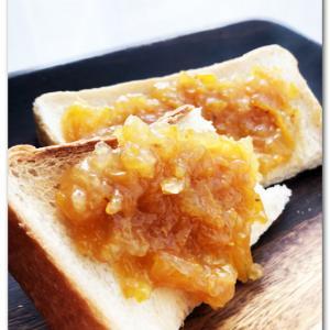 柚子ジャムトースト