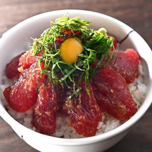 メシ通『魚介を使った簡単レシピ 』☆ まぐろのみそだれ漬け丼