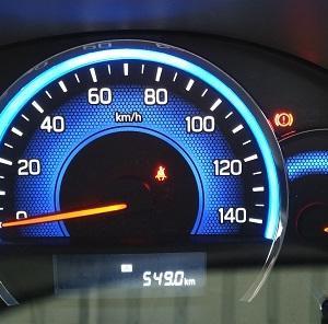 久々エブリイの燃費測定 DA17V