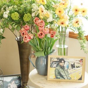 お花を飾って気分を上げる