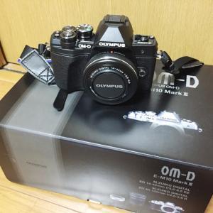 カメラを買っていたんだ。