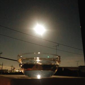 ウエサク満月の満タンウォーターはめっちゃ甘いのだ