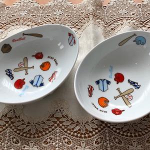ポーセラーツ生徒さま作品・お孫さんの食器