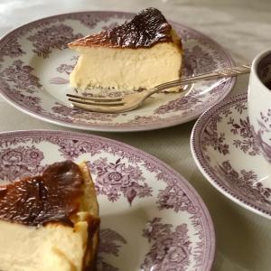バスクチーズケーキ、大成功♪♪