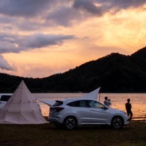 西湖自由キャンプ場 レポート〜湖畔に泊まれて予約不要