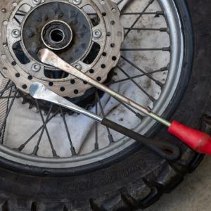 AX41のタイヤライフ&リアタイヤ交換作業レポート