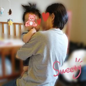 赤ちゃんの髪と刺繍♡