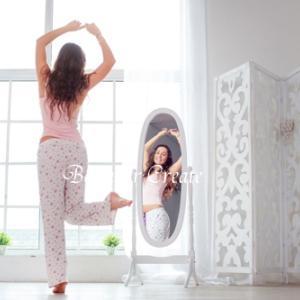 外見を鏡で確認するなら、内面も鏡を使おう♡