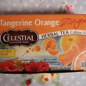 オレンジ風味のノンカフェインティー♪