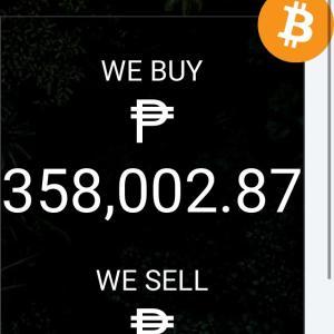 12月10日ビットコイン換金レート(フィリピン、ペソ)