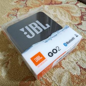 Bluetoothスピーカー JBL GO 2 買ってみた