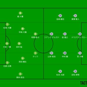 湘南1-1福岡