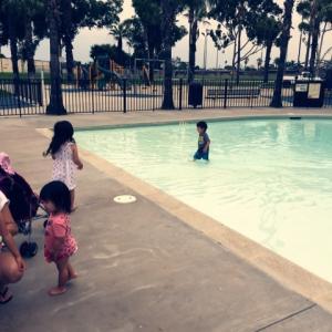 ★公園にプールは当たり前!?★