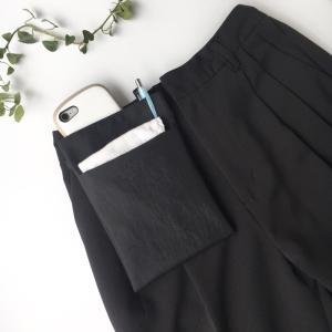 オールブラックのスマホポケット