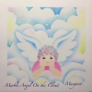 テキストブックレッスンの 「マーブル天使」を描いて送ってくれました。