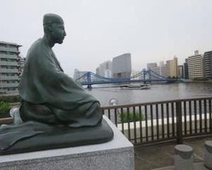 バスで行く「奥の細道」(その48) 深川・芭蕉記念館(江東区)  2020.6.18