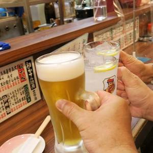 「初かすみ酒房 難波店」-3  〆のちょい呑み~南海なんばから帰る前に♪  200905