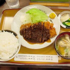 「大富士 堺店」 JR堺市駅  老舗!価格は良心的~とんかつ定食!!  200920