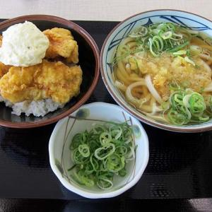 「丸亀製麺 コーナン堺店」-51 石津  タル鶏天丼&かけうどん☆タル鶏には飯やね♪ 201020