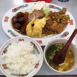 「福来軒」 北野田  駅近 町中華で A定食! ボリューミィ☆ うまい♪  201030