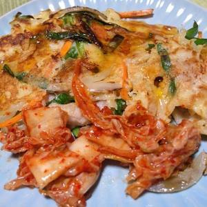 「モランボン」韓の食材 チヂミ&ゆず塩チャプチェ! お家料理でウマイ☆  210719