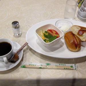 「レストラン アプリコット」 近畿大学病院内  ホットドッグ モーニング☆竹炭焙煎珈琲! 210730