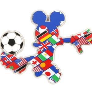 サッカーの応援はミッキーグッズで(^^)