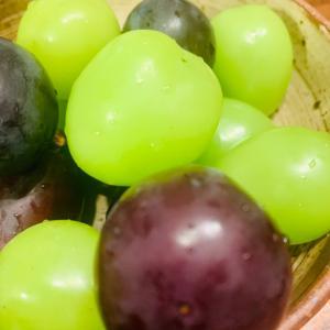 美味しい葡萄と結婚記念日