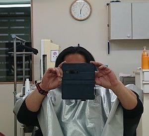 断髪します。(笑)