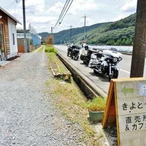 07/24 連休3日目 早朝ツーリング きよとう カフェ編
