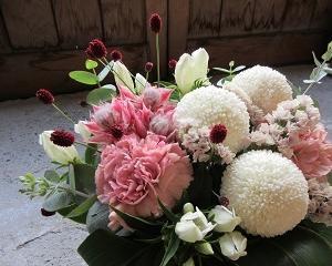 敬老の日にはお花を♪
