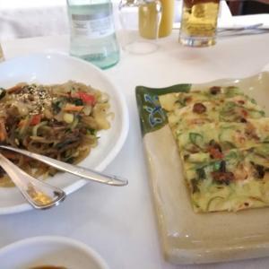 トラステヴェレの辛すぎない韓国料理やさん