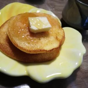 スフレパンケーキとミニケーキに挑戦