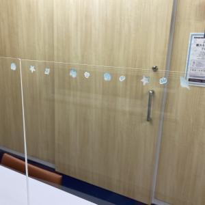 第一応接にアクリル板を設置しましたー新型コロナウィルス対策ー