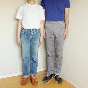45rの20年モノの色落ちデニムと長持ちnakamuraの靴。