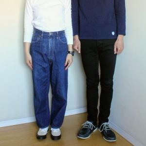 夫婦揃ってバスクシャツ。私はセントジェームス、夫はオーシバル。