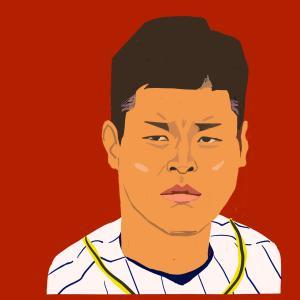 佐藤輝明 選手(阪神タイガース)