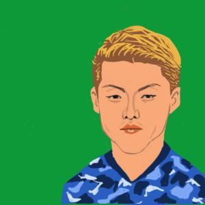 堂安 律 選手(サッカー日本代表)