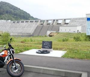 「TW225E」で避暑ぷちツーリング(当別ふくろう湖・厚田・望来)