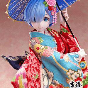 吉徳×F:NEX Re:ゼロから始める異世界生活 レム -日本人形- 1/4スケールフィギュア <<F:NEX限定・完全受注生産>>