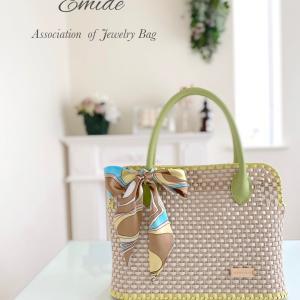【ジュエリーバッグ】新作★オフの日にも通勤にも使えるバッグ