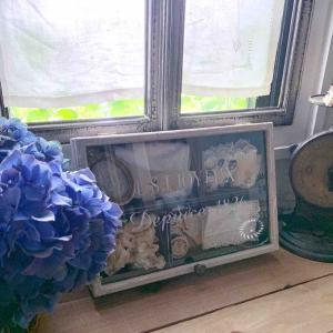 ガラス蓋のリメイク木箱販売 + 次に製作予定のモノ*