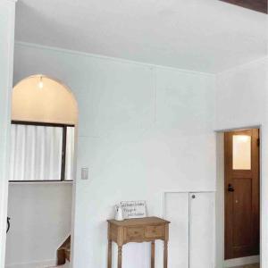 新居リノベ~階段の壁塗り*