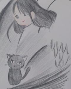 [詩とアート]暗がりのなかで