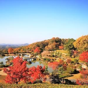秋の神石高原町 穴場紅葉スポットその2 「天空の日本庭園」に行ってきました♪